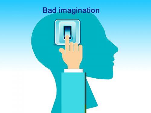 悪い想像をやめる