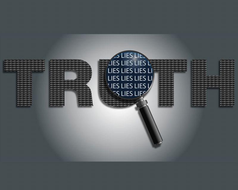 真実の中の嘘を探す