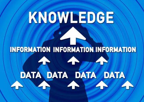 情報が知識となる