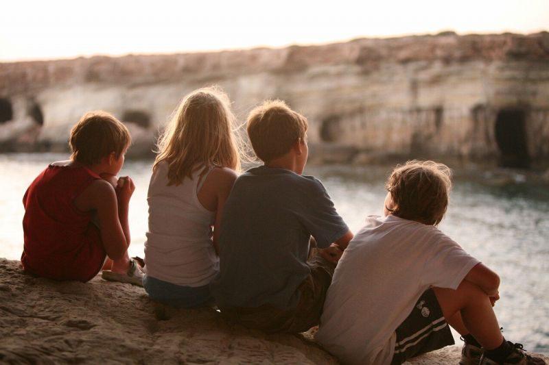 4人の友達