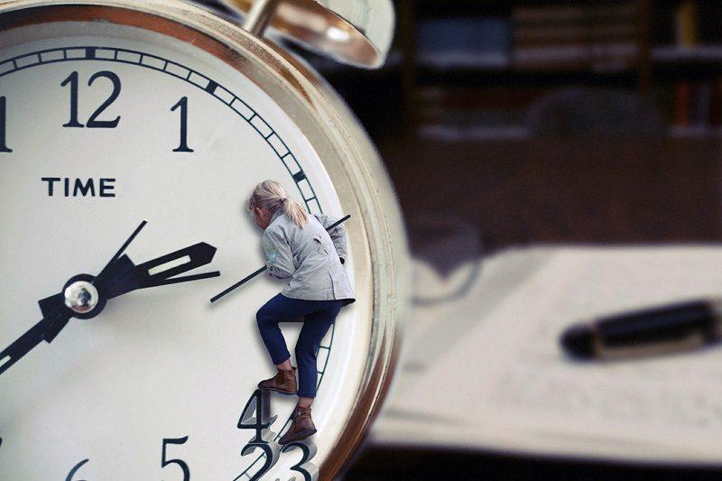 時間をかけて努力する