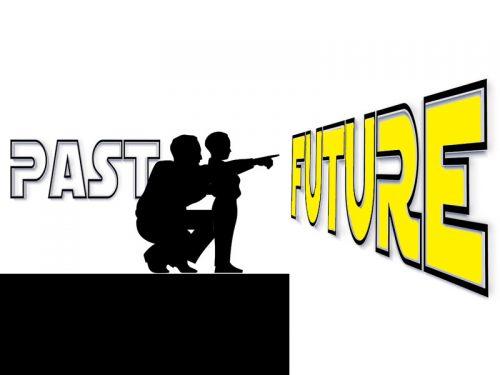 未来に期待する親子